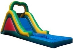 16' Multi color Water Slide rental Austin, TX