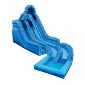 Blue Ice Waterslide with Pool rental Austin, TX