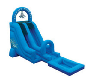 Dolphin Express 16' Water Slide rental Austin, TX