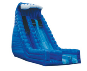 22' Blue Crush Dry Slide rental Austin, TX
