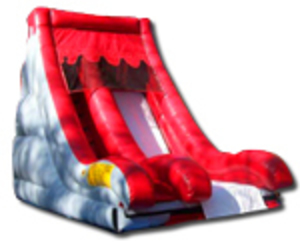 Volcano Dry Slide  rental Austin, TX
