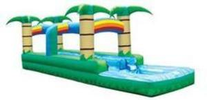 Double Lane Tropical Slip 'n' Slide with Rainbows rental Austin, TX