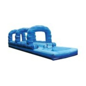 Blue Double Lane Slip n Slide rental Austin, TX