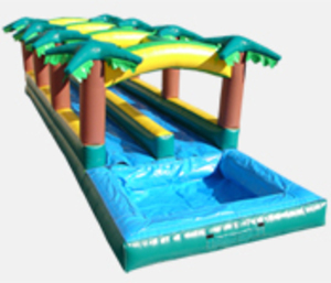 Double Lane Tropical Slip 'n' Slide rental Austin, TX