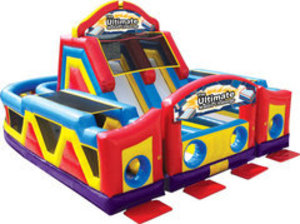 Ultimate Obstacle Course Bounce House  rental Austin, TX