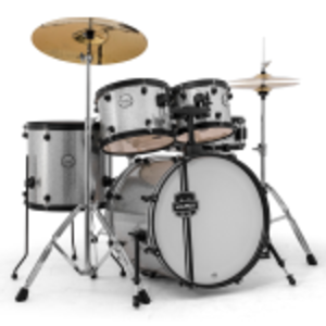 Drum Set: Mapex M Silver M Series rental Austin, TX