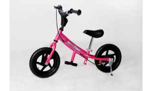 "Pink mini glider 12"" balance bike rental Austin, TX"