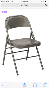 6 metal coding chairs rental Austin, TX