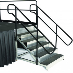 Stage Stairs with Handrails rental Austin, TX