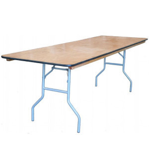 4 ft. Rectangle Table rental Austin, TX