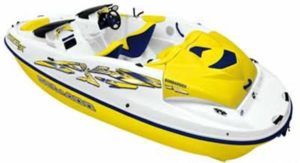 17' Sea Doo Speedster rental Austin, TX