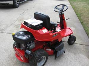 Riding lawn mower rental Atlanta, GA
