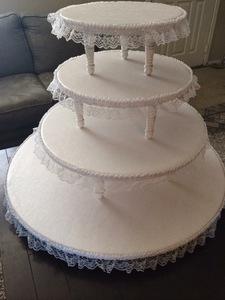 Cupcake / Cake Stands rental Austin, TX