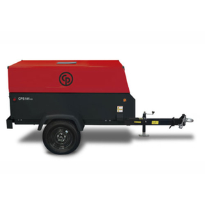 Chicago Pnuematic 185 cfm Air Compressor rental Austin, TX