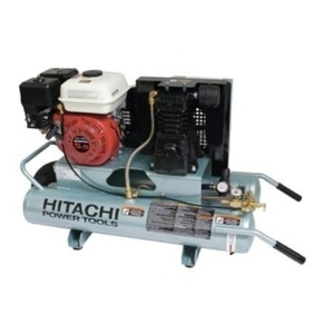 Hitachi Dual Tank 5.5hp gas Air Compressor rental Austin, TX