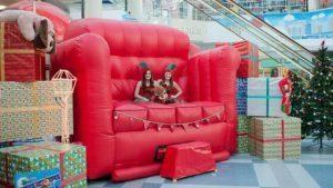 Big Red Sofa rental Austin, TX