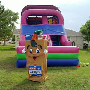 20' Dry Slide rental Austin, TX