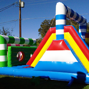 Candy Land Obstacle Course rental Austin, TX