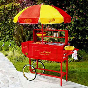 Hot Dog Cart rental Austin, TX