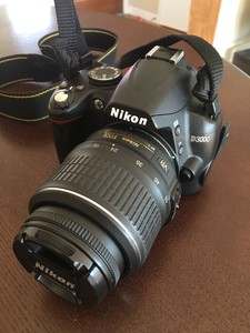 Nikon D3000 DSLR w/ 18-55mm Zoom + 50mm 1.8G Lens rental San Francisco-Oakland-San Jose, CA