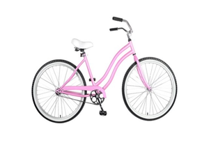 Ladies Pink Schwinn Bike Cruiser rental Austin, TX