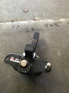 "Eazlift trailer hitch w/ 2-5/16"" ball rental Houston, TX"