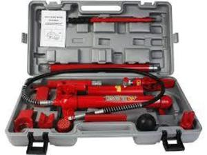 4 TON HEAVY DUTY PORTABLE HYDRAULIC EQUIPMENT KIT rental Houston, TX