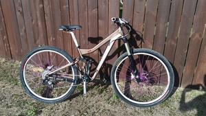 Niner WFO mountainbike rental Austin, TX