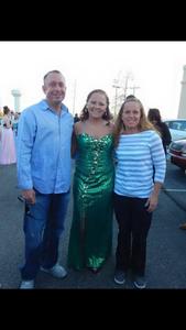 Green Prom Dress rental Dayton, OH