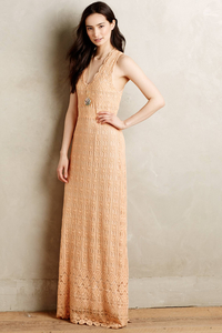 Korvilas Corina Laced Maxi Dress rental Charlotte, NC