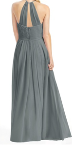 Gray Bridesmaid Dress, Size 8 rental Washington, DC (Hagerstown, MD)