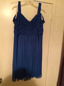 Formal short blue dress rental Richmond-Petersburg, VA