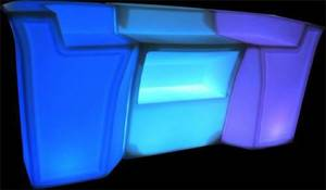 3 psc LED Bar rental Los Angeles, CA
