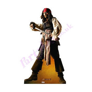 Life Size Jack Sparrow (Johnny Depp) Cut Out rental Monterey-Salinas, CA
