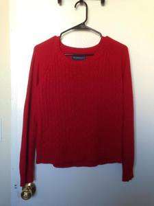 Red Aeropostale Sweater rental San Francisco-Oakland-San Jose, CA