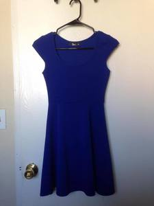 Blue Evening/Casual Dress rental San Francisco-Oakland-San Jose, CA