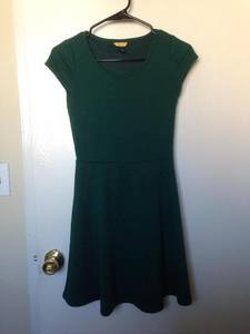 Dark Green Evening/Casual Dress rental San Francisco-Oakland-San Jose, CA