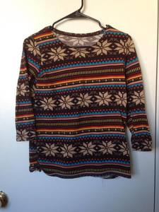 Casual Patterned Sweater rental San Francisco-Oakland-San Jose, CA