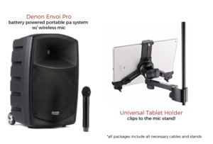 Wireless Karaoke System rental Austin, TX