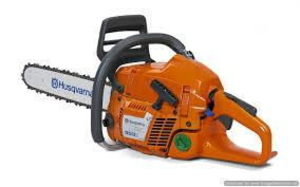 "Chainsaw, 18"" Gas rental Austin, TX"
