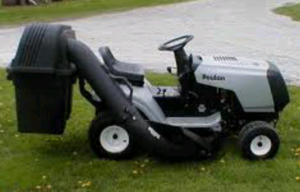 "Poulan 38"" Riding Lawnmower & Grass Catcher  rental Youngstown, OH"