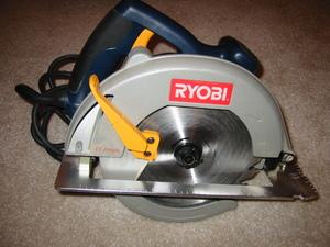 "Ryobi 7 1/4"" circular saw, corded rental Austin, TX"
