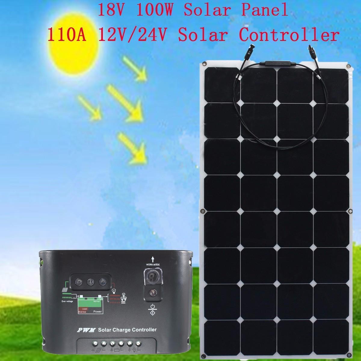 Loanables Sunpower Flexible 100w Solar Panel Rental