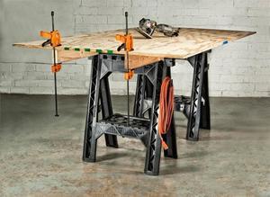 WX065 WORX Clamping Sawhorses rental Yakima-Pasco-Richland-Kennewick, WA