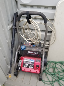 Black Max electric power washer rental Austin, TX