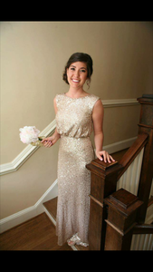 Sequence, Floor Length, Formal Dress rental Raleigh-Durham (Fayetteville), NC