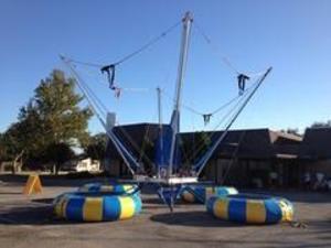 Eurobungy 4 in 1 Trampoline Bounce rental Austin, TX