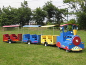 Trackless Train rental Austin, TX