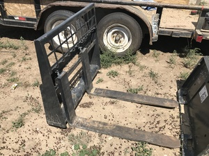 forks for mini skid steer rental Denver, CO