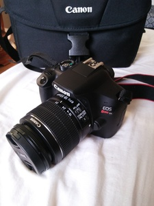 Canon Rebel t6 Eos DSLR camera with Lens rental Philadelphia, PA